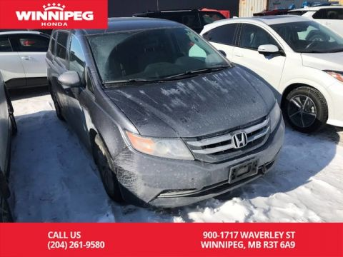 Pre-Owned 2014 Honda Odyssey EX/One owner/Accident free/Low KM/Bluetooth