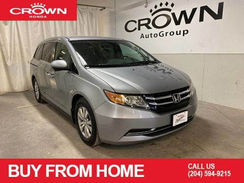 Pre-Owned 2016 Honda Odyssey EX w/ RES | CROWN ORIGINAL | ONE OWNER | ACCIDENT FREE | LOW KMS | HEATED FRONT SEATS | DVD | BLUETOOTH