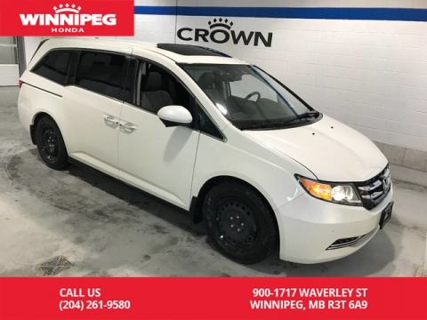 Pre-Owned 2014 Honda Odyssey Certified/EX-L w/RES/Bluetooth/Heated seats/Leather