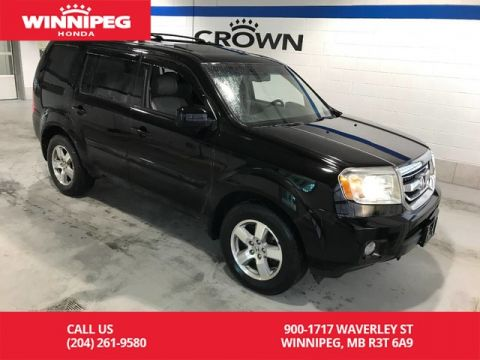 Pre-Owned 2011 Honda Pilot 4WD/EX-L/Heated seats/Sunroof/Alloy wheels