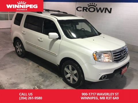 Pre-Owned 2015 Honda Pilot Touring/Navigation/heated seats/rear view camera/8 passenger