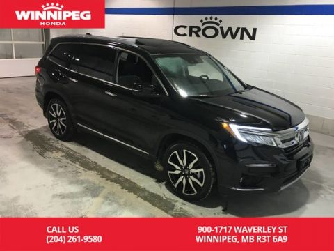 Pre-Owned 2019 Honda Pilot Touring 7-Passenger/DVD/Heated steering wheel/heated front and rear seats/Remote start