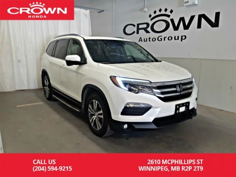 Pre-Owned 2017 Honda Pilot EX-L w/Navi/ accident-free history/ one owner lease return/ low