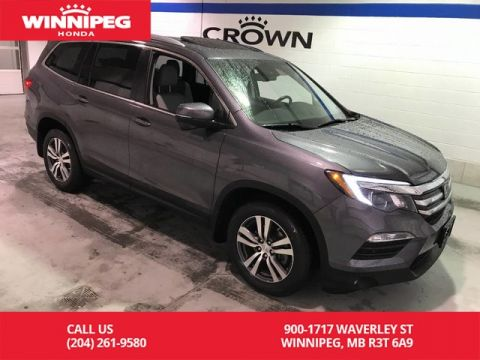 Pre-Owned 2016 Honda Pilot EX-L w/Navi/Bluetooth/Navigation/Sunroof/Leather