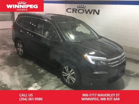 Pre-Owned 2016 Honda Pilot EX-L w/Navi/Leather/Heated seats/Sunroof/Power tailgate