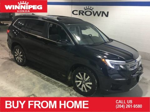 Certified Pre-Owned 2019 Honda Pilot EX-L Navi/Certified/Sunroof/Leather/Bluetooth/Power tail gate