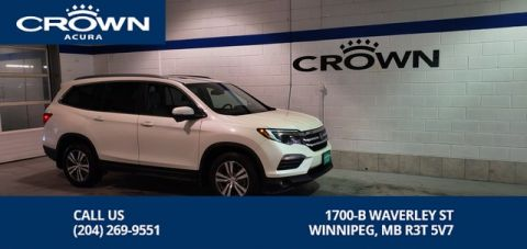 Pre-Owned 2016 Honda Pilot EXL Navi 4WD ** 7 Passenger ** Leather ** Sunroof**