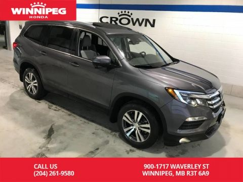 Pre-Owned 2017 Honda Pilot Certified/EX-L w/Navi/Sunroof/Heated seats/Power tailgate