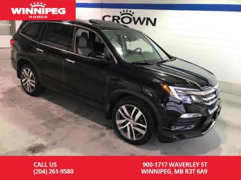 Pre-Owned 2016 Honda Pilot Certified/Touring/Heated seats/Heated steering wheel/Bluetooth