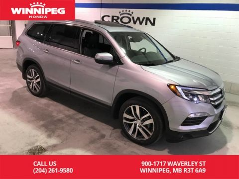 Pre-Owned 2018 Honda Pilot Certified/Touring/AWD/Bluetooth/Apple carplay/Heated and Cooled