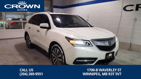 Certified Pre-Owned 2016 Acura MDX Navi SH-AWD **Includes 7 Year No Charge Extended Warranty** Incl