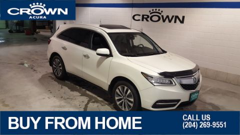 Certified Pre-Owned 2016 Acura MDX Navi SH-AWD **No Charge Extended Warranty** Crown Original** 7 Passenger**
