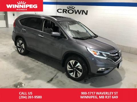Pre-Owned 2016 Honda CR-V Certified/Touring/lease return/Fully loaded/Bluetooth/Navigation