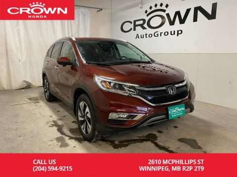 Pre-Owned 2015 Honda CR-V AWD 5dr Touring/ LOW KMS/ HEATED FRONT SEATS/ PUSH START/ BACKUP CAMERA/ BLUETOOTH/ USB PORTS