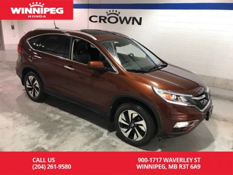 Pre-Owned 2015 Honda CR-V Touring/Navigation/Sunroof/Leather/Power tailgate