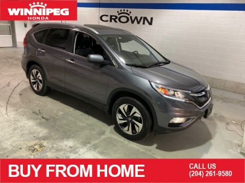 Certified Pre-Owned 2016 Honda CR-V Certified / Touring / 7 year 160,000 km warranty / Fully loaded