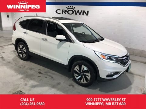 Pre-Owned 2016 Honda CR-V Touring/Lease return/Accident free/Fully loaded/Bluetooth/Naviga