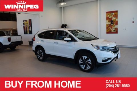 Certified Pre-Owned 2016 Honda CR-V Touring / Certified / Sunroof / Heated seats / Navigation