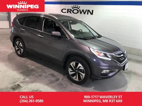 Certified Pre-Owned 2016 Honda CR-V Certified/Touring/Heated seats/Sunroof/Navigation/Bluetooth
