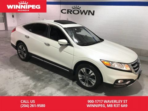 Pre-Owned 2014 Honda Crosstour EX-L 4WD/Sunroof/Heated seats/Bluetooth