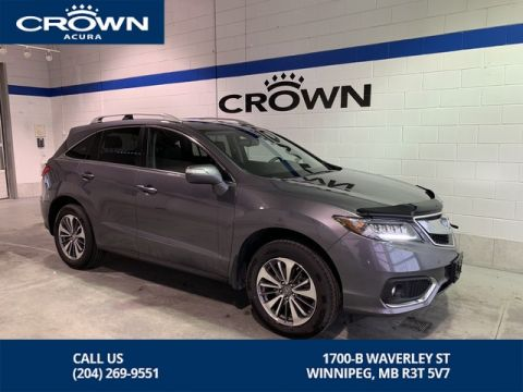 Pre-Owned 2017 Acura RDX AWD 4dr Elite Pkg