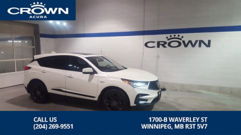 Pre-Owned 2019 Acura RDX A-Spec SH-AWD **Former Acura Canada Executive Demo** Save Thousands off New**