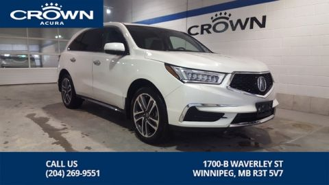 Certified Pre-Owned 2018 Acura MDX Navi SH-AWD ** 7 Passenger ** Acura Canada Executive Demo**
