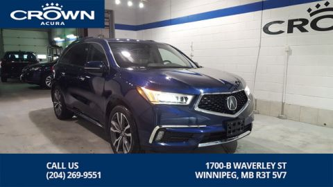 Pre-Owned 2019 Acura MDX Elite **Former Acura Canada Executive Demo** Fully Loaded**