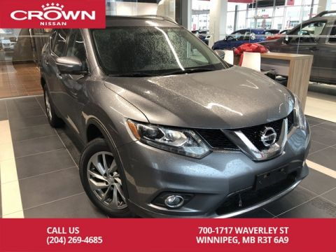 Pre-Owned 2015 Nissan Rogue SL Technology Package *360 Backup Cam/Bluetooth/Leather*