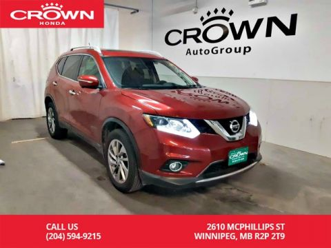 Pre-Owned 2015 Nissan Rogue SL/ONE OWNER/ VERY LOW KMS/ PUSH START/ HEATED SEATS/ PANORAMIC SUNROOF/ BACK UP CAM/ NAVIGATION