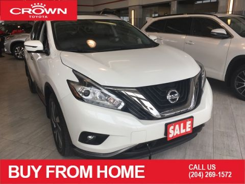Pre-Owned 2016 Nissan Murano Local Trade | Collision Free | AWD | Platinum