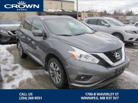 Pre-Owned 2016 Nissan Murano SL AWD **Navigation** Nissan Canada Lease Return**