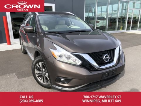 Pre-Owned 2017 Nissan Murano SL AWD *Clean CarFax/360 Backup Cam/Bluetooth*