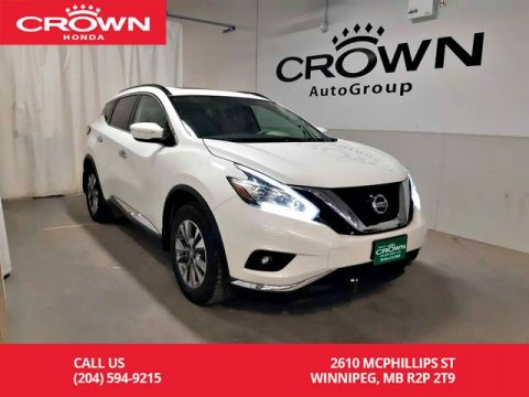 Pre-Owned 2015 Nissan Murano SV/no damage records/one owner/HEATED steering wheel/low kms/panoramic sunroof