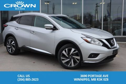 Pre-Owned 2017 Nissan Murano Platinum **No Accidents/One Owner/Local**