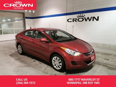 Pre-Owned 2012 Hyundai Elantra GL / Low Kms / Local / Great Value