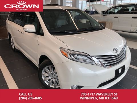 Pre-Owned 2017 Toyota Sienna XLE LIMITED 7-Passenger AWD *Bluray DVD player/Local Trade*