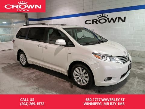 Pre-Owned 2017 Toyota Sienna Limited AWD / Crown Original / Clean Carproof / Lease Return