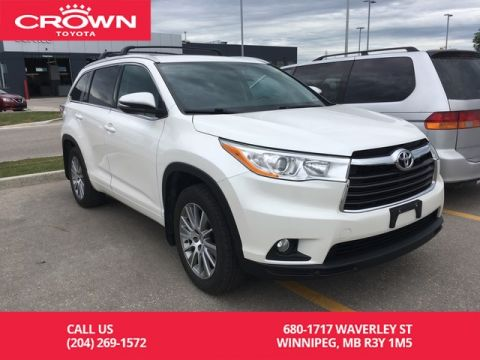 Pre-Owned 2016 Toyota Highlander XLE AWD / One Owner / Highway Kms / Navigation