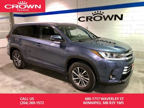 Pre-Owned 2018 Toyota Highlander XLE AWD / Local / One Owner / Extended Warranty Till 2023