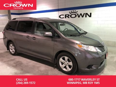 Pre-Owned 2015 Toyota Sienna 7-Pass FWD / Manitoba Vehicle / Highway Kms / Great Condition / Unbeatable Value