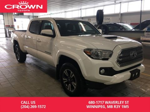 Pre-Owned 2017 Toyota Tacoma TRD Sport Double Cab / Upgrade Pkg / Low Kms / Sunroof