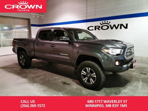Pre-Owned 2017 Toyota Tacoma TRD Sport Upgrade Double Cab / Crown Original / Lifted / Clean Carproof / Lease Return