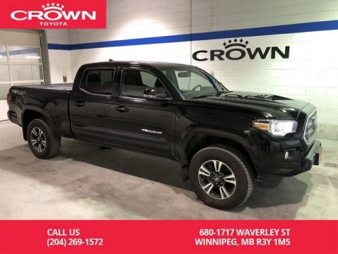 Pre-Owned 2017 Toyota Tacoma 4WD Double Cab TRD Sport Upgrade Pkg / Highway Driven / Blind Spot Monitor System