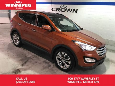 Pre-Owned 2015 Hyundai Santa Fe Sport SE/Leather/Heated seats/Sunroof/Push button start