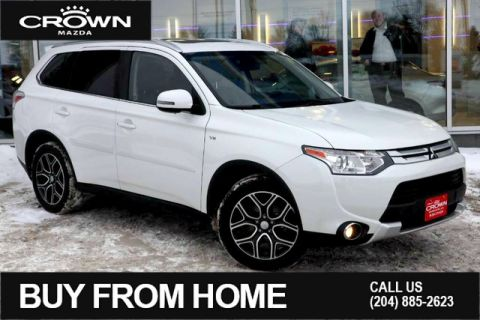 Pre-Owned 2015 Mitsubishi Outlander 4WD GT**One Owner/Local Vehicle**