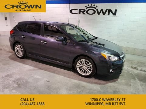 Pre-Owned 2013 Subaru Impreza Limited ** Leather, Sun Roof, Heated Seats, Navi**