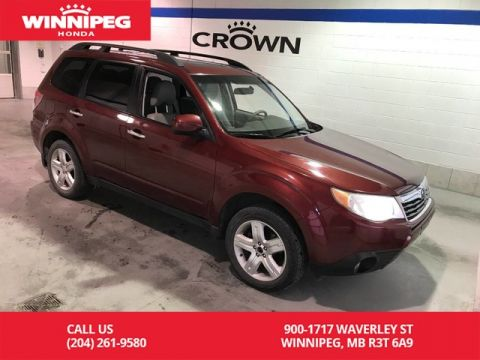 Pre-Owned 2010 Subaru Forester 2.5X Limited/Sunroof/4 wheel drive/Leather