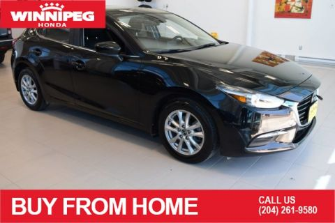 Pre-Owned 2018 Mazda3 Sport GS Auto / Hatchback / Heated seats / Bluetooth / Rear view camer