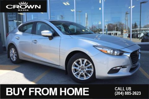 Pre-Owned 2018 Mazda3 GS Manual **Local Vehicle**